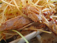 料理:江戸前味噌肉ネギらーめんチャーシュー@蔵出し味噌・麺場・彰膳・東福岡店