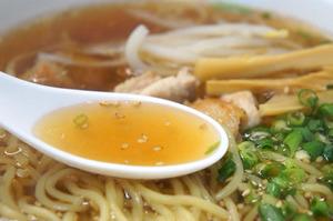 6鶏中華そばスープ@佐藤商店