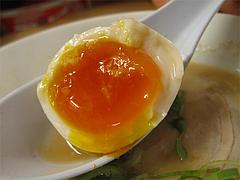 14ランチ:ラーメン煮玉子2@博多拉麺・宗(ラーメンそう)・薬院