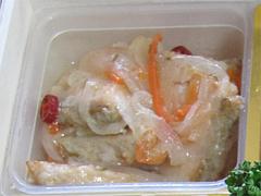 料理:サーモンエスカベーシュ@2011セントラルホテル福岡お節(おせち)・二の重