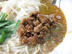 ランチ:ぶんりゅう麺・ピリ辛肉味噌600円@長浜ラーメンぶんりゅう