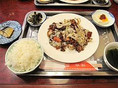 ランチ:回鍋肉定食650円@中華・福楼飯店・港