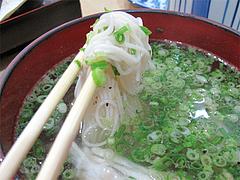 料理:鯛そうめんの素麺@ランチ・鮨あつ賀