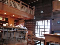 店内:カウンター席@夢空間はしまや・カフェ・倉敷