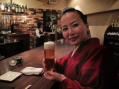 1バー:生ビール@イタリアン・ワインバー・SUGIYA(スギヤ)・赤坂