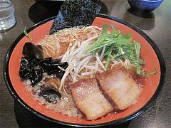 料理:醤油ラーメン650円@中華そば行徳家・野間