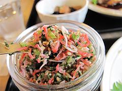 料理:ふりかけ@梅山鉄平食堂