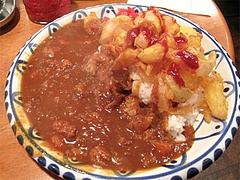 料理:玉ねぎフライカレー730円@文化屋カレー店・博多区住吉
