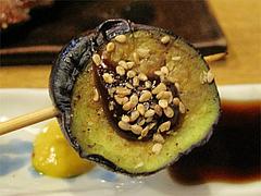 料理4:なす@串焼き・釜飯の俵・久留米