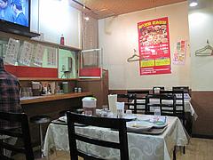 3店内:テーブル・カウンター@点心楼・台北・清川店