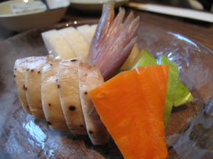 4野菜の浅漬け@磯ぎよし