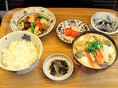 4メニュー:博多定食890円@わっぱ定食堂・天神・今泉
