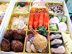 料理:空撮@2011セントラルホテル福岡お節(おせち)・三の重