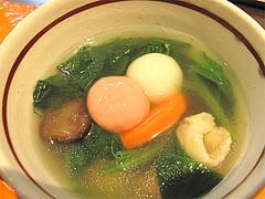 料理:紅白白玉雑煮の紅白@白玉屋新三郎・桜坂店・福岡