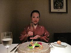 5店内:テーブル席@レザンドール・フレンチ・ワインバー・西中洲