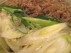 料理:肉うどんネギ@讃岐うどん志成(しなり)