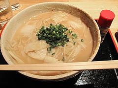 料理:ちゃんどん650円@もちもち麺工房松・住吉