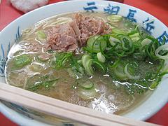料理:カタ@元祖長浜屋ラーメン