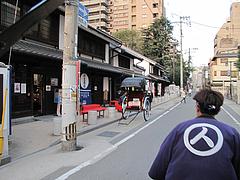 福岡・博多観光9@人力車の博多人力屋