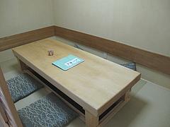 22店内:個室@中洲しか野・う奈ぎ(うなぎ)道場・松戸