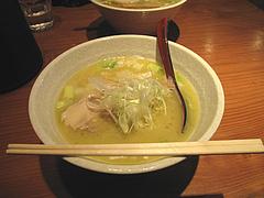 7ランチ:鶏白湯らぁめん600円@ラーメン・らぁめんシフク(429)・福岡空港