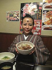 1ランチ:帯広名物豚丼です@居酒屋しょうき・大橋店
