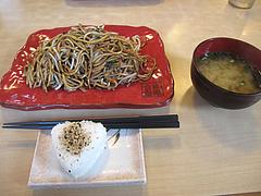 ランチ:平日限定ランチセット680円@麺焼そば・バソキ屋