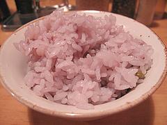 ランチ:五穀米ごはんセット700円@烏骨鶏ラーメン・天照