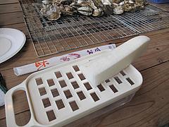料理:大根おろし@牡蠣小屋だいゆー(だいゆう・ダイユー)・糸島