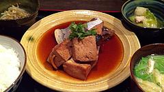 2ランチ:日替わり・鰆の煮付け定食700円@海の味有福・サンセルコ