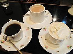 料理:コーヒー・カフェオーレ・ウインナコーヒー@喫茶コービン・天神