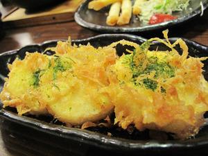 16サクサク山芋の天ぷら290円@めんちゃんこ亭・藤崎