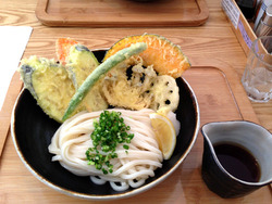 4野菜天ぶっかけ750円@うどん日和
