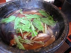 ランチ:鶏ごぼう汁@生そば・あずま・長住店
