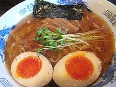 料理:醤油ラーメン500円+味付玉子100円@醤油ラーメン・ひるず亭・長丘