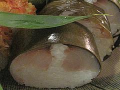 11料理:鯖姿寿司@京寿司ランチ・祇園いづ重