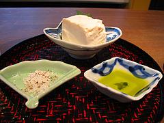 7料理:唐津・かわしま豆腐@バー・Yumekichi Wine(ユメキチワイン)