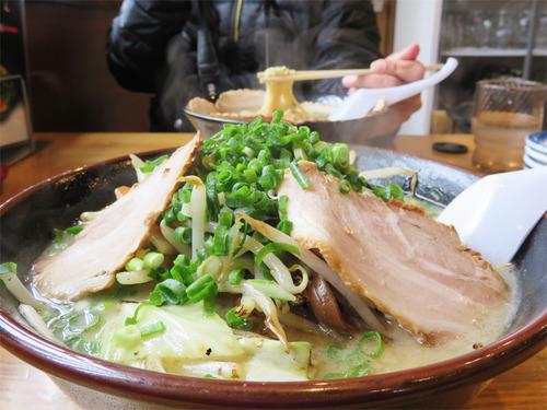 7野菜たっぷりチャンメン800円