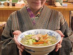 料理:ちゃんぽん大の大きさ@魚魚・居酒屋