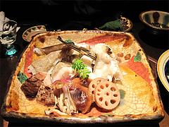 料理:アラの酒蒸し@たらふくまんま・春吉