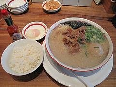 13ランチ:博多肉そばセット@一風堂・薬院店
