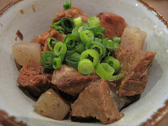 11料理:すじこん@牡蠣やまと・鉄板居酒屋・赤坂・料理:生ビール@牡蠣やまと・鉄板居酒屋・赤坂・オイスターバー