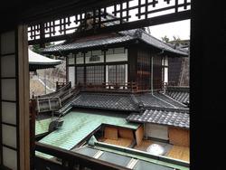 5個室からの眺め@道後温泉本館