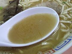 料理:ラーメンのスープ@博龍軒・博多区馬出九大病院前