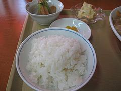 14ランチ:白ご飯と小鉢@不二家食堂・大手門