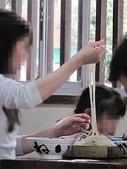 料理:ざるうどん500円@かねいしうどん・博多駅東