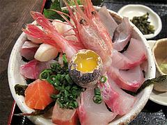 料理:海鮮丼アップ@海の味・有福・サンセルコ