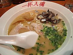 料理:入魂らーめん390円@らーめん亭・福岡魂・六本松