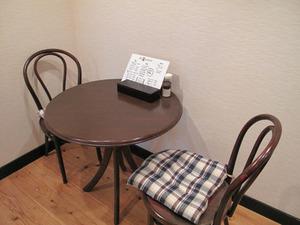 3テーブル席@英々食堂
