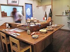 3店内:カウンター席@和食・四季菜・益々・小郡